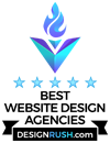 Design Rush Award Website Design Agencies