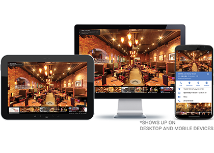 Street View For Businesses - The Xcite Group-website on various devices