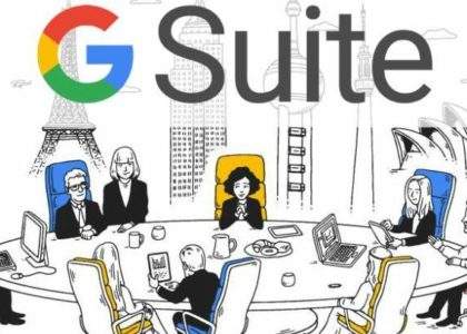 G-Suite For Business logo The Xcite Group