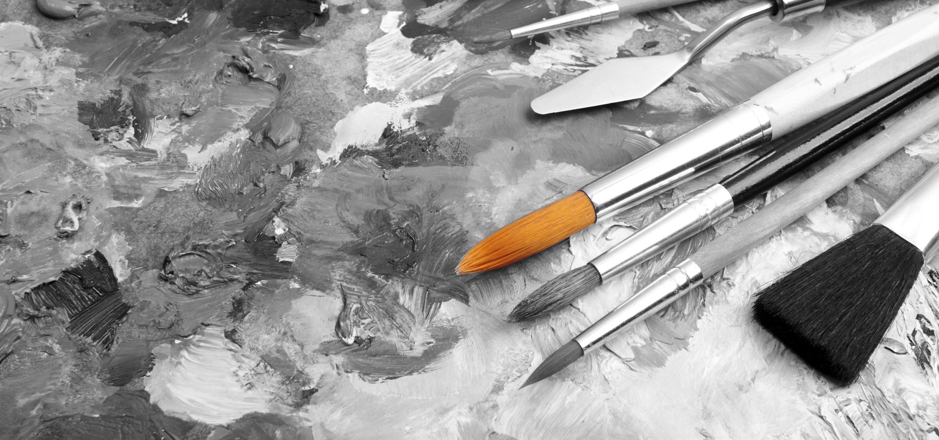 Create & Engage - The Xcite Group-canvas and paint brushes