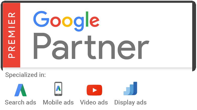 Premier Google Partner Badge - The Xcite Group
