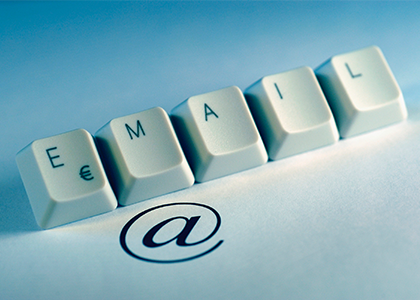 Email Retargeting - The Xcite Group-keyboard keys spelling email