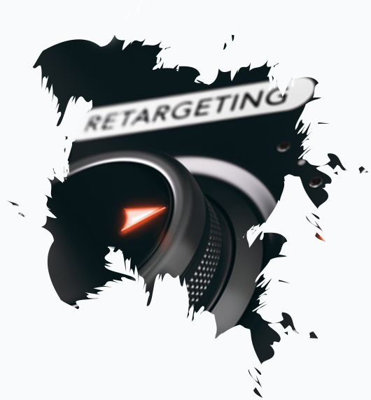Remarketing - The Xcite Group-control button pointing to retargeting