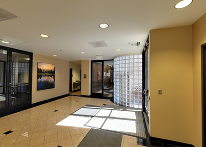 The Xcite Group - Google Street View Examples-image of lobby area of 4401 S Quebec Denver