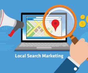local search marketing illustration
