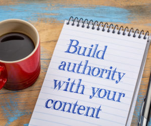 position your company as an authority