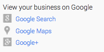 View Your Business On Google