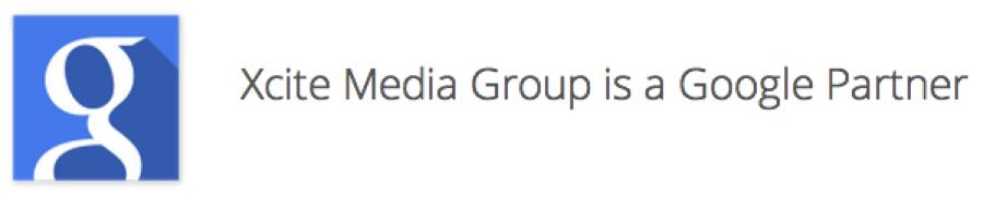 Xcite Google Partner banner